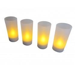 Bougies LED rechargeables