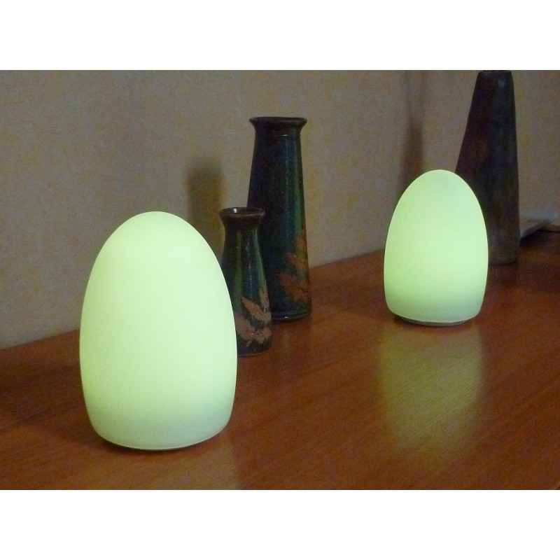 Lampe de table led autonome sans fil multicouleur - Lampe de table led sans fil ...